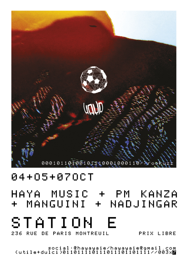 Haya - Station E Flyer